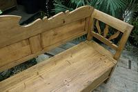Fabulous Old (Victorian) Hungarian Box/ Storage/ Hall Bench (9 of 11)