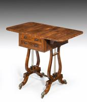 Regency Period Rosewood Table of Small Proportions (2 of 5)