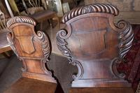 Pair of Late Regency Hall Chairs (3 of 3)