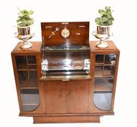 Vintage Art Deco Drinks Cabinet 1930s Furniture (2 of 10)