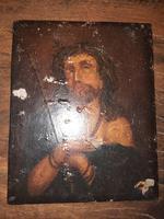 16th Century Northern European Oil on Board of Christ