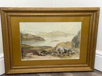 19th Century Scottish Highlands Watercolour Loch Kishorn By William Leighton Leitch (3 of 36)