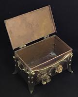 Arts and Crafts Copper and Brass Trinket Box (7 of 7)