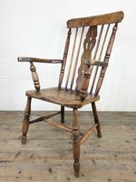 Antique Beech & Elm Windsor Armchair (11 of 12)