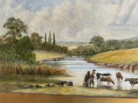 Unique Watercolour Painting Inscribed to H. York Esq on the Mount (4 of 5)