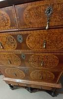 William & Mary Period Oyster Kingwood, Rosewood Marquetry Chest (7 of 8)