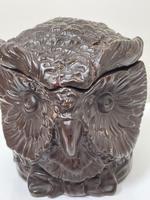 Black Forest Eichwald Earthenware Owl Tobacco Jar (3 of 24)