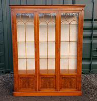 Reprodux bevan funnell yew wood display cabinet (8 of 8)