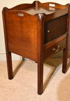 18th Century Mahogany Commode Bedside Cabinet (3 of 5)