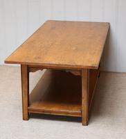 Solid Oak Coffee Table c.1960 (6 of 6)