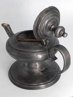 Pewter Oil Lamp (2 of 4)