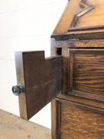 Early 20th Century Antique Oak Bureau Bookcase (10 of 16)