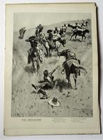 Done in the Open, Frederic Remington first edition, true Wild West pictures 1902 (3 of 8)