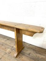 Long Antique Pine Bench (7 of 10)