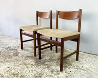 4 x 1960's Mid Century Dining Chairs by White & Newton (4 of 4)