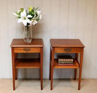 Pair of Yew Tables (4 of 10)