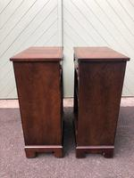 Pair of Mahogany Bedside Cabinets (7 of 8)
