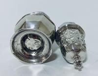Small 18th Century Solid Sterling Silver Sugar Caster Shaker by Thomas Bamford (10 of 13)