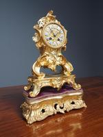 Louis XV Style Ormolu Mantel Clock by Raingo, Paris (2 of 16)