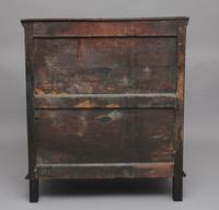 Mid 18th Century oak moulded front chest of drawers (9 of 10)