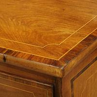 Regency Inlaid Bow Fronted Chest (4 of 10)