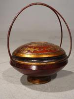 Early 20th Century Domed Topped Food Basket (2 of 5)