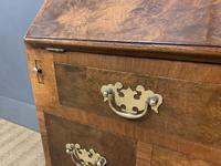 Very Good Queen Anne Style Burr Walnut Bureau (5 of 18)