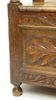 Early 20th Century  Oak Monks Bench (5 of 20)