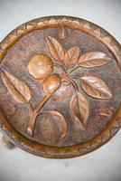 Carved Country Tripod Stool (4 of 9)