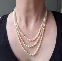Pearls with Marcasite Clasp (4 of 5)