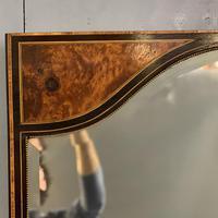 19th Century Ebonised & Burr Walnut Mirror (2 of 4)