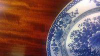 English Delftware 18th Century Pottery Plate in the Chinese taste (9 of 10)