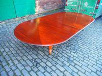 Large George IV Mahogany Dining Table by M. Willson, London (9 of 20)