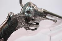 Spanish 19th Century 12mm Double Action Pinfire Revolver (6 of 10)