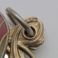 Meyle & Mayer Jugendstil Silver Dragonfly Pendant Locket, Very Rare (6 of 6)