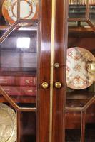 George 3 mahogany breakfront bookcase library circa 1800 (8 of 9)