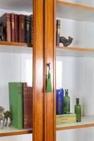 Handsome Victorian Walnut Glazed Bookcase C1890 (6 of 12)