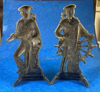 Pair of Victorian Brass Door Stops (2 of 16)