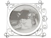Sterling Silver Photograph Frame - Antique Edwardian 1905 (6 of 9)