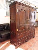 Country Oak Press Cupboard c.1730 (2 of 10)