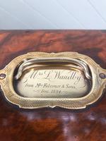 Antique Burr Walnut Ladies Jewellery Box (6 of 9)