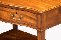 George III Period Mahogany Side Table of Very Small Proportions (2 of 5)