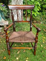 19th Century Victorian Child's Armchair (2 of 7)