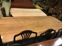 Solid Oak Refectory Table (9 of 9)