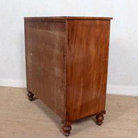 Chest of Drawers 19th Century Light Mahogany (12 of 12)