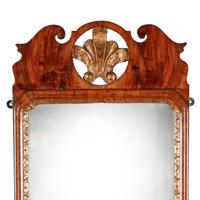 George I Walnut Framed Mirror (4 of 7)