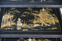 Nest Oriental Black Lacquer Tables (5 of 13)