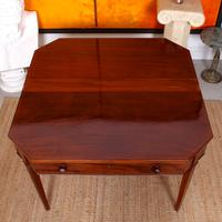 Folding Writing Desk 19th Century Mahogany (8 of 17)