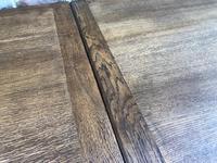 "Large Antique Oak 10ft 6"" Extending Dining (12 of 12)"