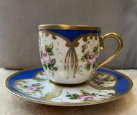 Limoges Sevres Style Cup & Saucer (2 of 3)